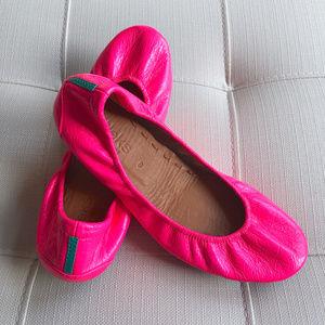 Tieks Ballet Flats Pop Pink Patent Leather Sz 8